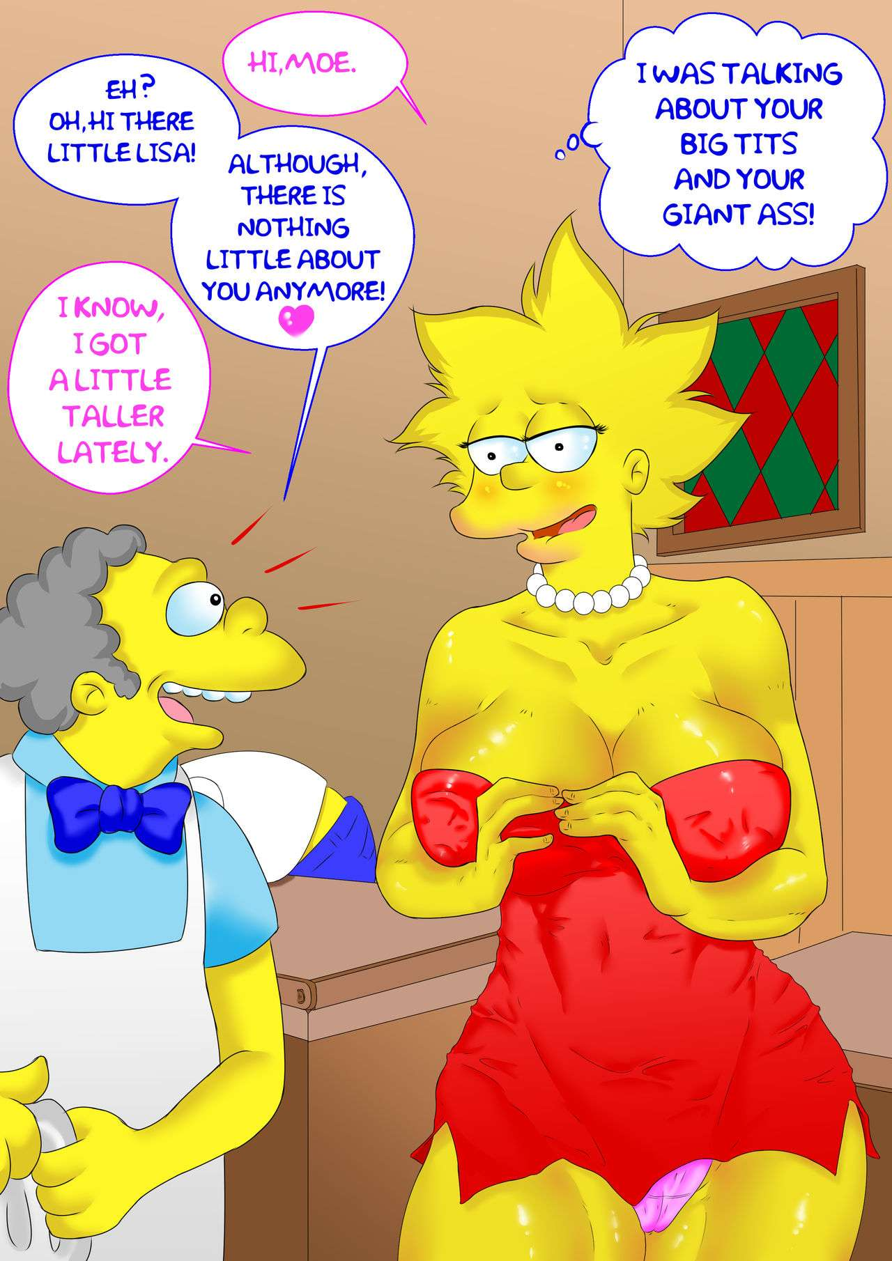 cartoon porn the simpsons