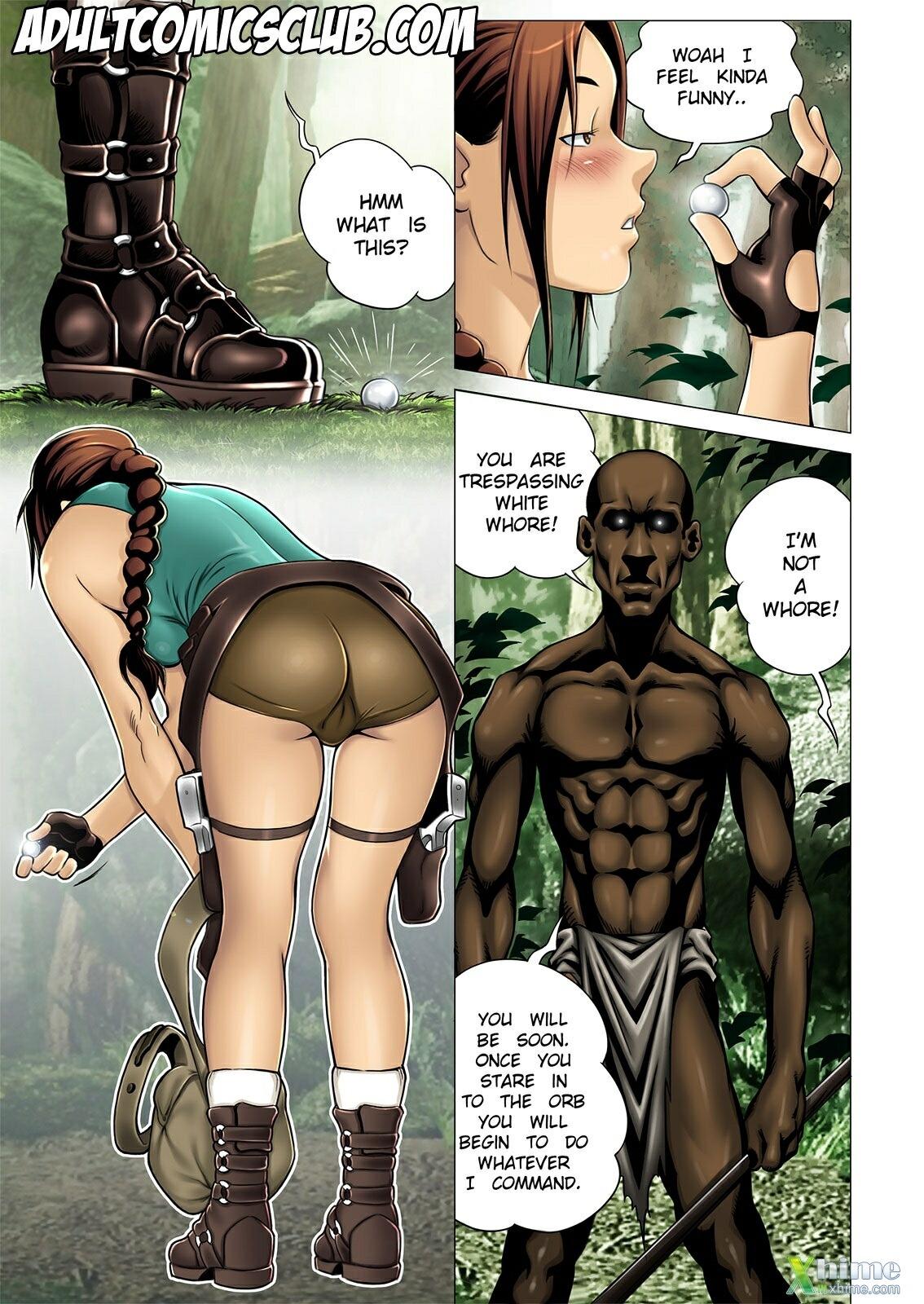 lara croft porn comics